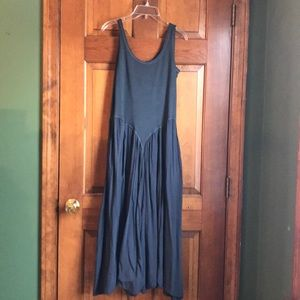 New American South Side Dress GrayBlue Small